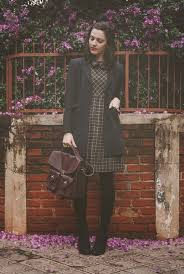 Nancy Drew Inspired Dress Blazer And Bag
