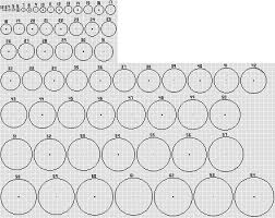 Minecraft Circle Floor Designs by Circle Guides 1 32 And 1 64 Minecraft