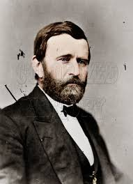 President Of The United States Ulysses S Grant In Civil Clothes