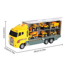 100 Toy Car Carrier Truck KOBWA Transport Rier Transporter With 6 Colorful