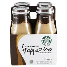 Starbucks Frappuccino Mocha 95 Oz 4 Pk Glass Bottles
