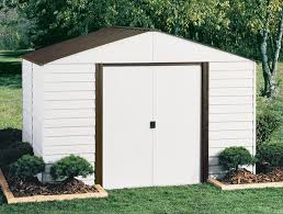 Lifetime 10x8 Shed Assembly by Arrow Parkview 10x8 Storage Shed Kit Pm108 A Shedsdirect Com
