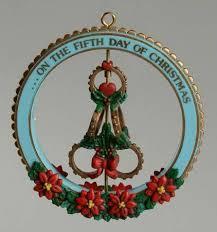 Enesco Twelve Days Of Christmas Five Golden Ring