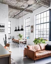 104 Interior Design Loft 20 Dreamy Apartments That Blew Up Pinterest Fashion Landscape Decoration Deco Salon Canape En Cuir Marron