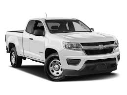 New 2018 Chevrolet Colorado 2WD Work Truck Extended Cab Pickup In ...