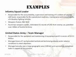 Military To Civilian Resume Template From Free Sample Examples Visit Reads