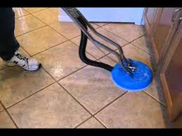 power cleaning kitchen floor