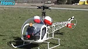 helicoptere thermique bell 47 g3 vario