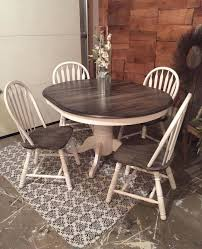 Rustic Dining Table Set Tables Grey Gray Oval Shaped