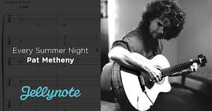 every summer pat metheny free sheet tabs