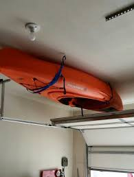 Kayak Hoist Ceiling Rack by 25 Unique Kayak Storage Ideas On Pinterest Canoe Storage Kayak