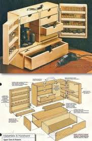 Sewing Cabinet Woodworking Plans by Rotary Tool Cabinet Woodsmith Plans Might Be Good For A Sewing