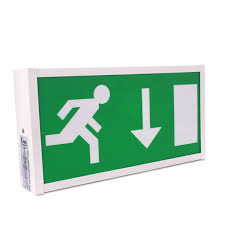 wall mounted led emergency exit sign pico 癸27 99 ex vat