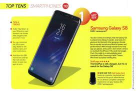 Stuff Top Ten Smartphones