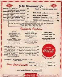 Tile Expo Freeport New York by Fw Woolworth Company Menu 1960 U0027s Main Street Freeport Ny