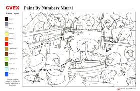 Free Colouring Pages Printable Paint Numbers Ideas Picture Coloring Page Sheets Adults Colour By Number For
