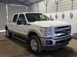 Salvage 2012 Ford F250 SUPER Truck For Sale