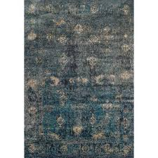 5 x 8 medium teal charcoal gray area rug antiquity rc willey