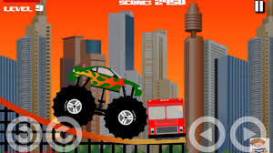 100 Destroyer Monster Truck All 12 Levels Walkthrough Car Cartoons