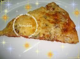 pizza à base de pâte liquide moelleuse douceurs culinaires