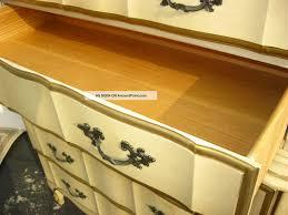 Kent Coffey French Provincial Dresser by Vintage Kent Coffey French Provincial Dixie Style Tallboy Dresser
