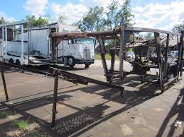100 The Waggoners Trucking COTTRELL AUTO HAUL BODY CAR CARRIER BODY FRAME ONLY JM Wood