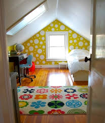 Attic Is Perfect Place For Kids Room The Very Top Of This House Turns Out You Can Change Into Playroom Or Bedroom With Loft Ideas Bright And