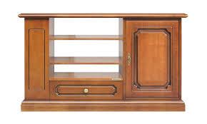 tv anrichte für wohnzimmer klassisches möbel aus holz tv schrank 1 schubladen 1 schubkasten 1 regal 1 fächer mit 2 höhenverstellbaren einlegeboden
