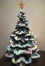 Vintage Atlantic Mold Ceramic Christmas Tree by I Soo Want One Of These Luv To Find An Old One Grandma U0027s
