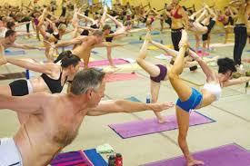 Bikram Yoga Making You Sweaty And Bendy