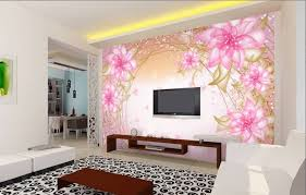 Download Beautiful LCD Cabinet Pink Wall Sticker Design Image