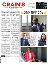 Cinetopia Living Room Skybox by Crain U0027s Detroit Business May 23 2016 Issue By Crain U0027s Detroit