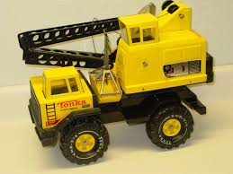 100 Tonka Crane Truck Vintage Mighty Turbo Diesel Bucket Pressed Steel Toy
