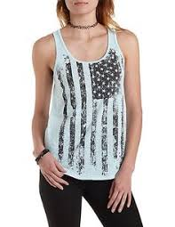 American Flag Tank Top Flowy More Colors