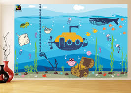 Wall Mural Decals Nursery by Ideas For Ocean Wall Decals Inspiration Home Designs