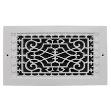 Decorative Return Air Grille 20 X 20 by Smi Ventilation Products Victorian Wall Mount 6 In X 12 In