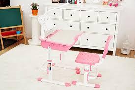 hauteur bureau enfant bureau ergonomique avec une chaise et le pour enfants réglage