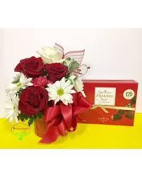 Valentines Mug Package 3500 Quick View Fire Truck Arrangement Flower
