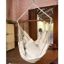 Brazilian Padded Hammock Chair by Brazilian Cotton Solid Colors Hammock Chair Hayneedle
