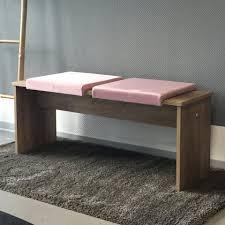 animal design bankauflage 1 st animal design klemmkissen gepolstert mit 1 leiste für sitzbank blau rosa tiefe 35cm 38cm zb für esszimmer