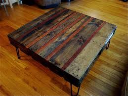 Good Looking Coffee Table Made Out Of Pallets