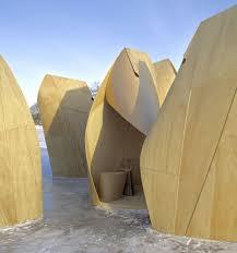 100 Patkau Architects Winnipeg Skating Shelters Temporary