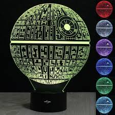Halloween Hologram Projector Kopen by Star Wars Death Star 3d Illusion Night Light Led 7 Color Change