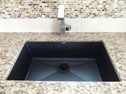 Moen Rothbury Faucet Pricing by Santa Cecilia Granite Blanco Silgranit Sink In Anthracite Moen