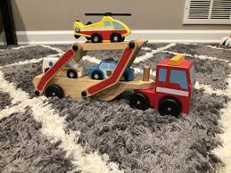 100 Melissa And Doug Trucks Best Euc Truck With Three Small Cars For Sale In