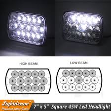 7x6 Led Sealed Beam 7x5 45W LED TRUCK LIGHTS USED FOR SEMI KENWORTH ... Automotive Household Truck Trailer Rv Lighting Led Light Bulbs Vnl Led Headlight Volvo Lights Semitruck 12 License Plate White For Semi Uatparts Shine On With This Traxxas Udr Kit Video Rc Newb 4 Inch Round Special Accsories 7x6 Led Sealed Beam 7x5 45w Truck Lights Used For Semi Kenworth Marker All About Cars 4pcs 4x6 Headlights For Western Star 4900 Perbilte Blue Trucks Design Trux