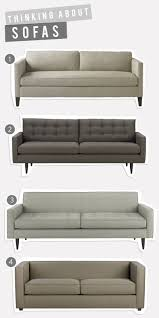 Crate And Barrel Petrie Sofa Slipcover by Choosing A New Sofa
