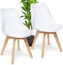 wonea esszimmerstühle 2er set mit massivholz buche bein esszimmerstuhl grau gepolsterter stuhl küchenstuhl holz mit abnehmbaren sitzkissen leicht