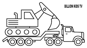 99 Youtube Truck Better Digger Colouring Pages Colors For Kids 10380 Unknown