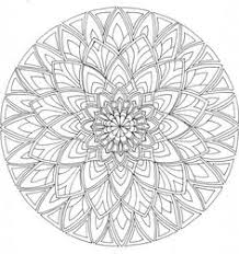 Advanced Mandala Coloring Pages 6 Difficult Level
